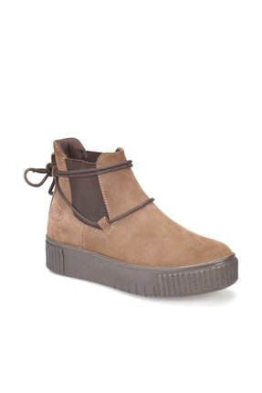 Dockers By Gerli 225487 Kum Rengi Kadın Deri Sneaker Ayakkabı 100329258