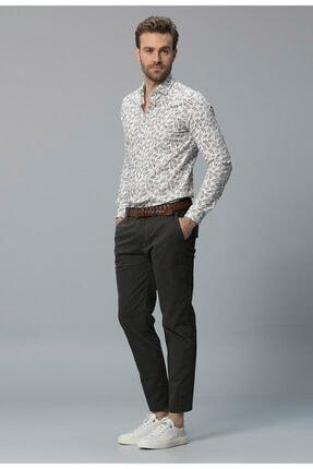 Lufian Edwardd Smart Chino Pantolon Slim Fit Yeşil