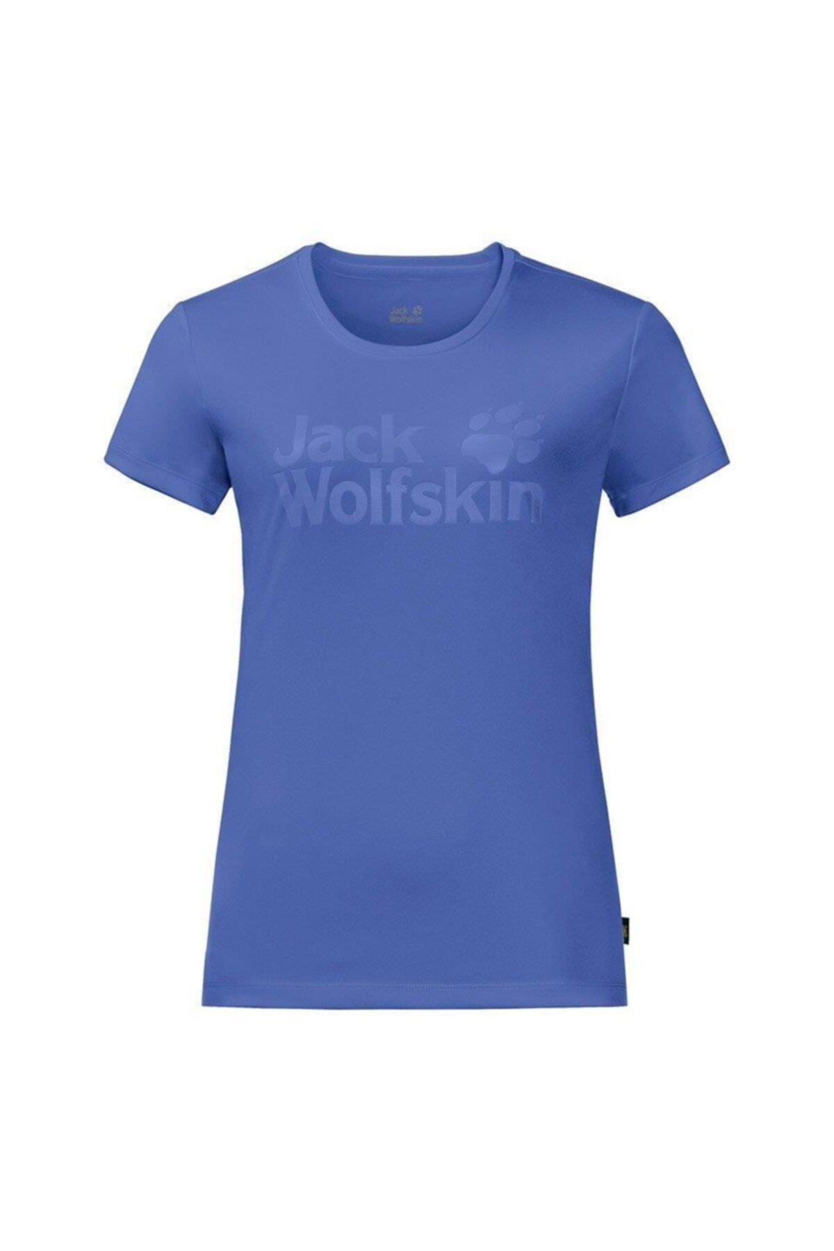 Jack Wolfskin Rock Chill Logo Kadın T-shirt - 1805541-1098 1
