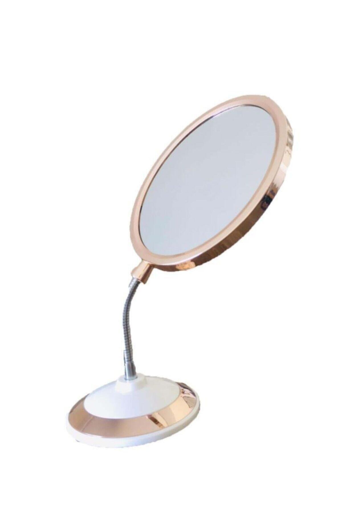 SUME Çift Taraflı 360 Derece Eğilebilir Büyüteçli Makyaj Aynası 1