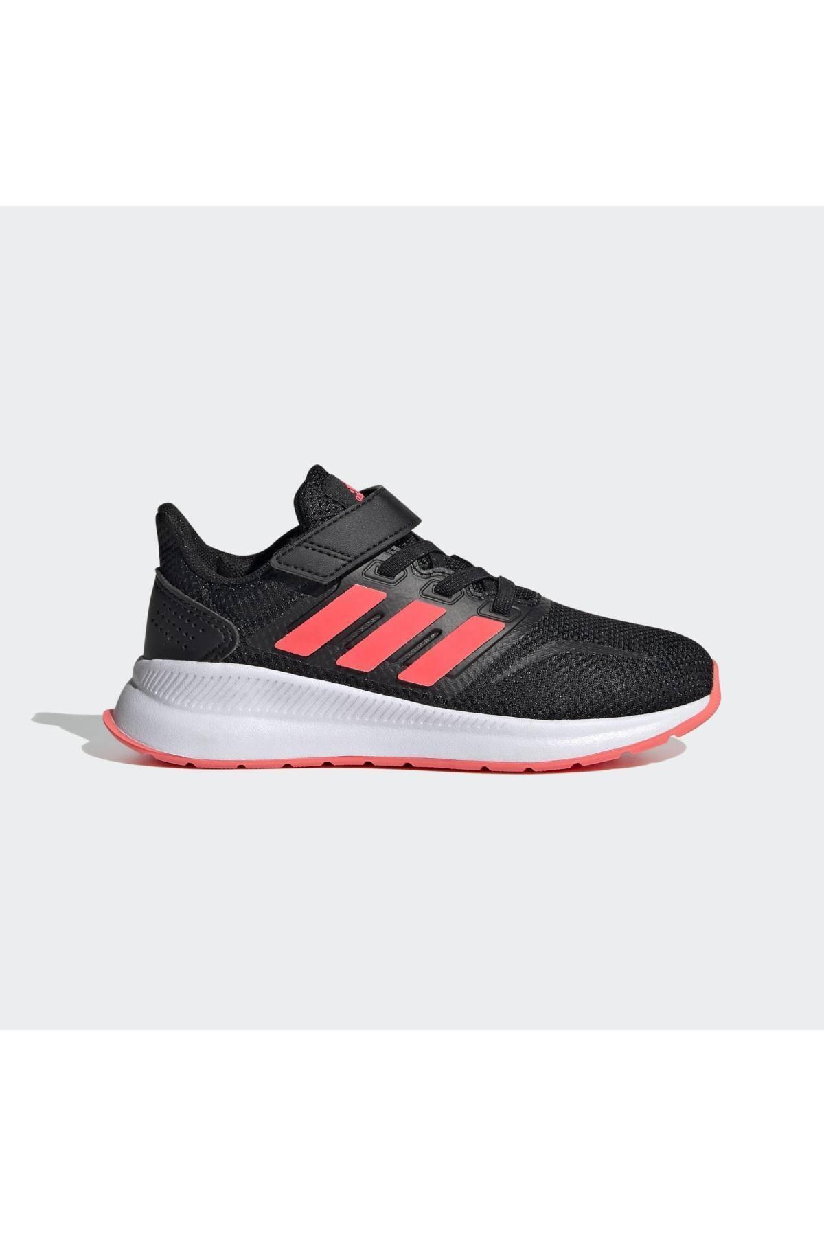 adidas RUNFALCON C Siyah Kız Çocuk Koşu Ayakkabısı 100663763 1