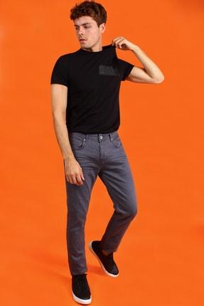 Collezione Gri 5 Cep Erkek Denim Pantolon
