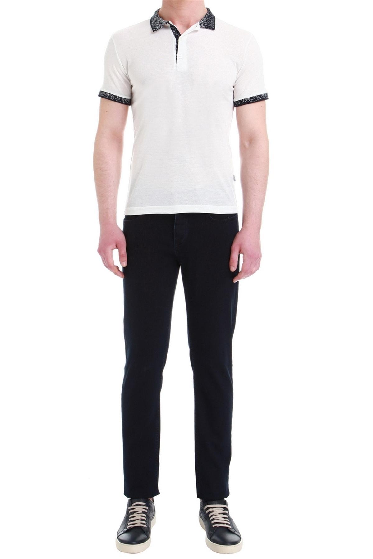 Efor 035 Slim Fit Lacivert Jean Pantolon 1