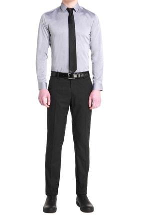 Efor P 1053 Slim Fit Antrasit Kanvas Pantolon