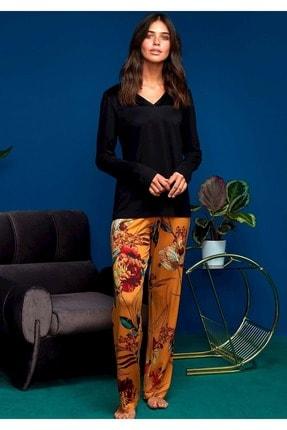 Penyemood Siyah Penye Mood 8609 Pijama Takımı   Xl