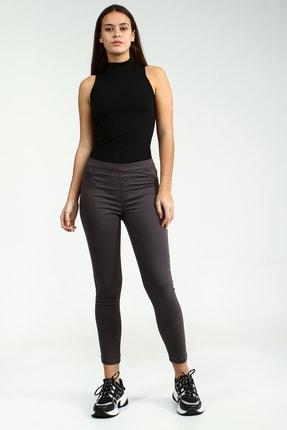 Collezione Antrasit Arka Cepli Jegging Kadın Pantolon