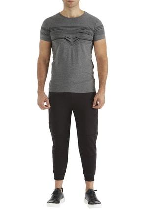 Efor Atp 01 Rahat Kesim Siyah Spor Pantolon