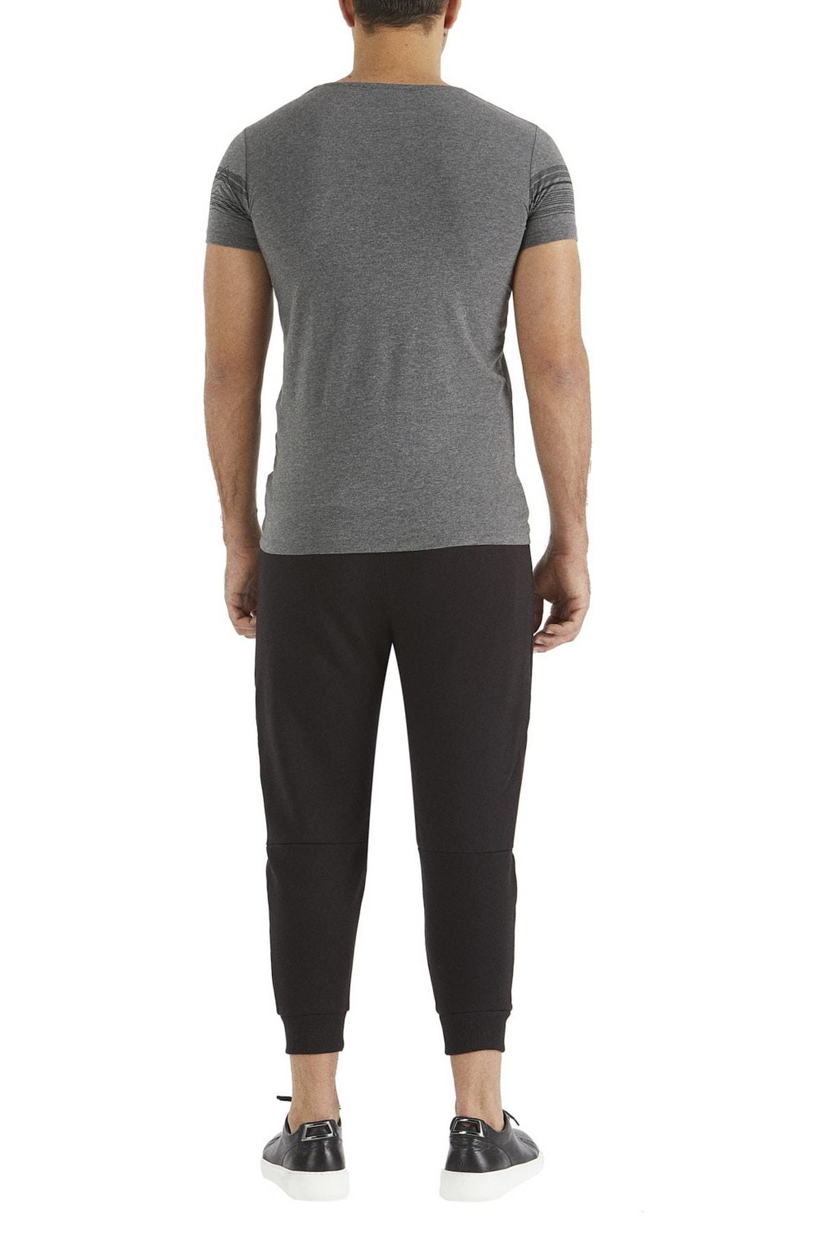 Efor Atp 01 Rahat Kesim Siyah Spor Pantolon 2