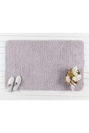 Madame Coco Sheep Banyo Paspası - Mürdüm - 80x140 Cm