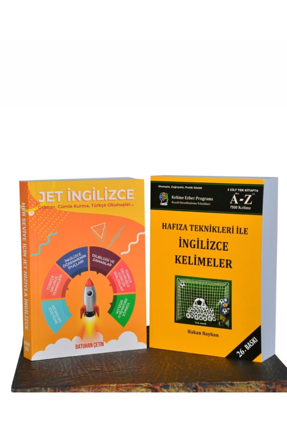 Bayhan Yayıncılık Jet Ingilizce - Hafıza Teknikleri Ile Ingilizce Kelimeler ( Ikili Set ) - Ebatları: 14x20cm 2