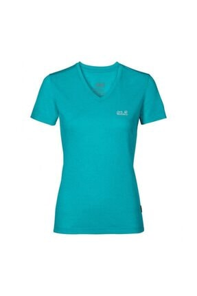 Jack Wolfskin Crosstrail Kadın T-shirt - 1801692-1105