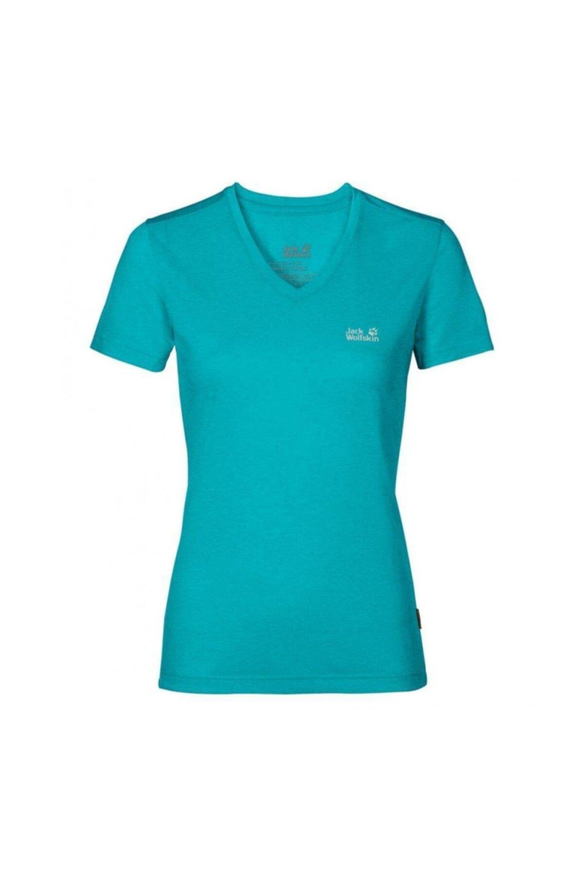 Jack Wolfskin Crosstrail Kadın T-shirt - 1801692-1105 1