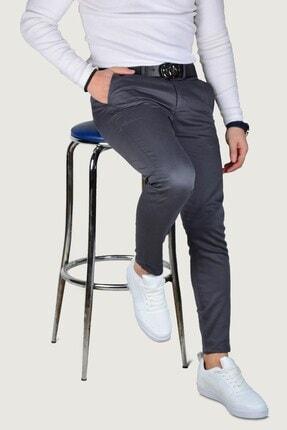 Terapi Men Erkek Keten Pantolon 9y-2200203-020 Füme