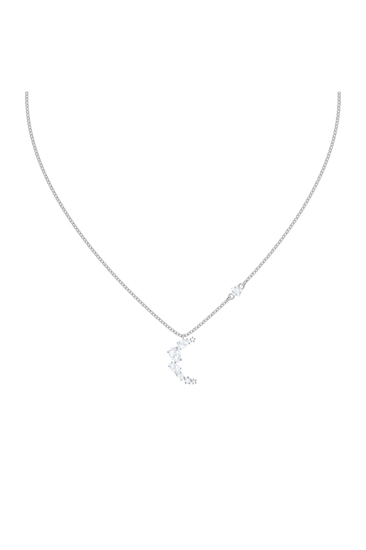 Swarovski Kolye Moonsun:necklace Moon Czwh/rhs 5508442 1