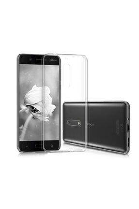 Nokia 5 Kılıf Soft Silikon Şeffaf Arka Kapak
