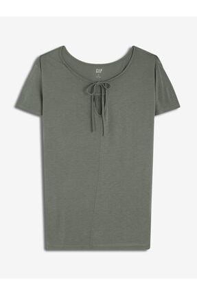 GAP Kadın Kısa Kollu Jarse T-shirt