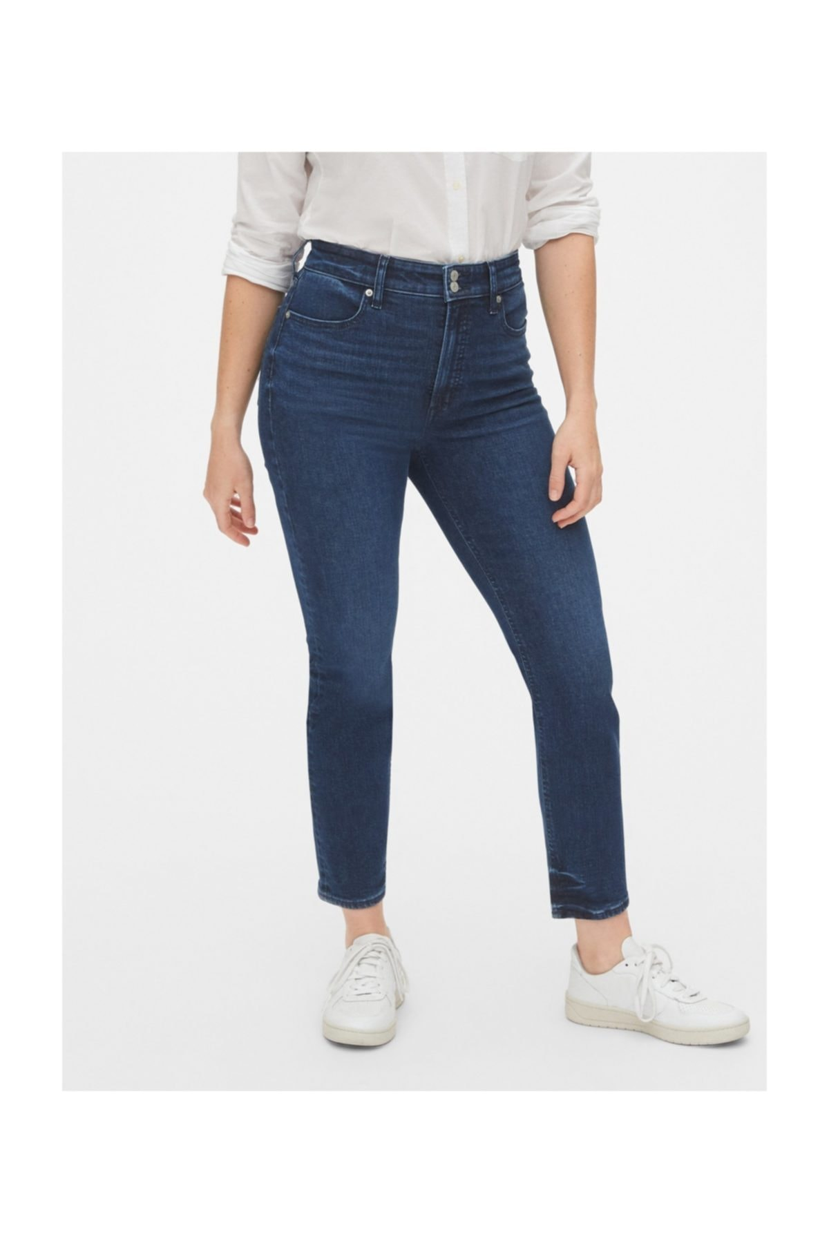 GAP High Rise Cigarette Jean Pantolon 1