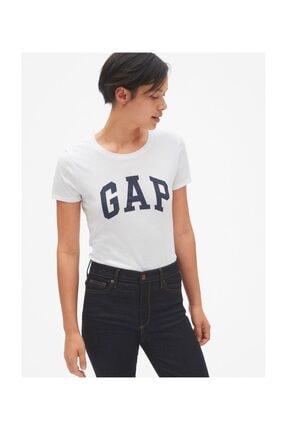 GAP Kadın Logo Kısa Kollu T-shirt