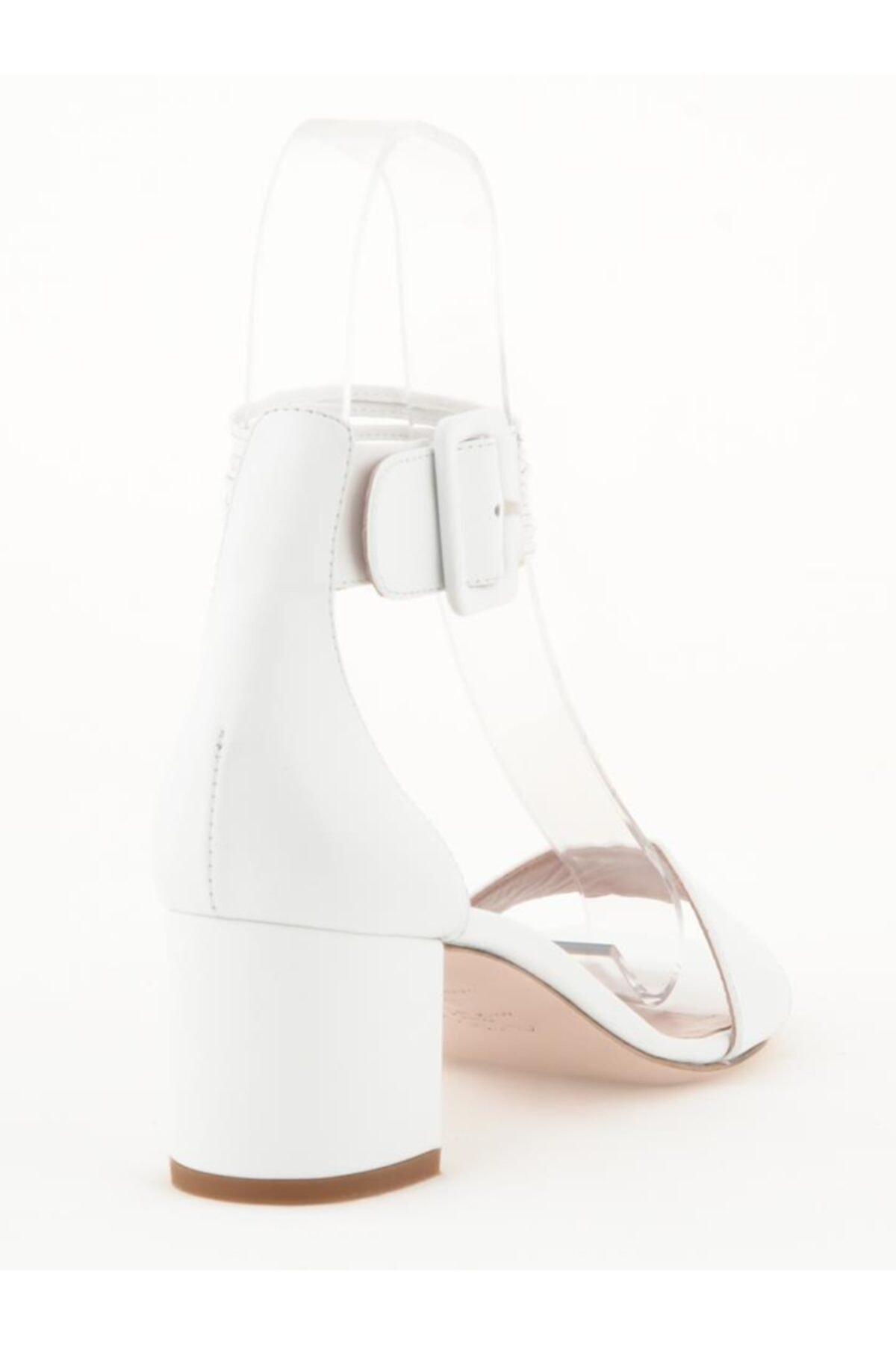 Nursace Hakiki Deri Klasik Topuklu Ayakkabı Nsc19y-a51044 Analın 2