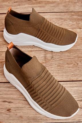 Bambi Haki Kadın Sneaker K01673050582