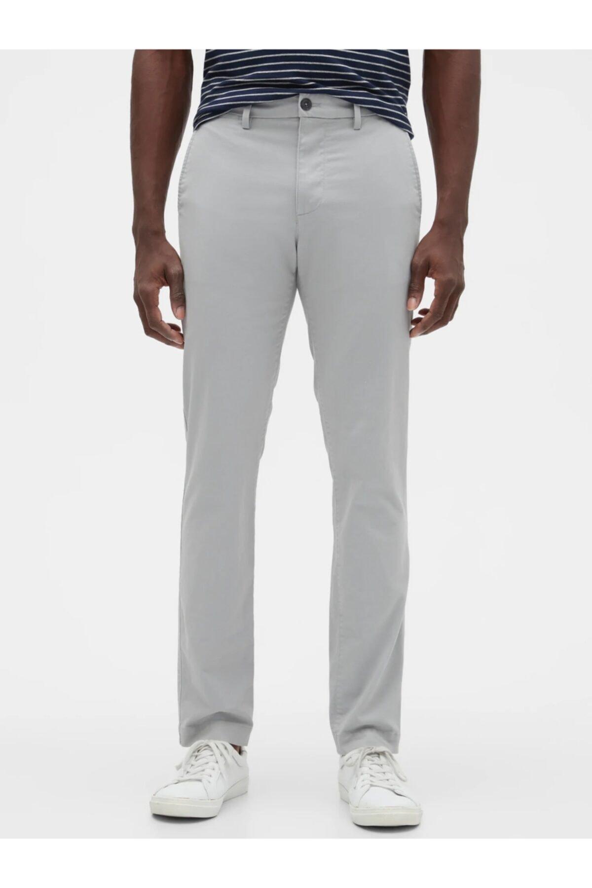 GAP Flex Skinny Fit Khaki Pantolon 1