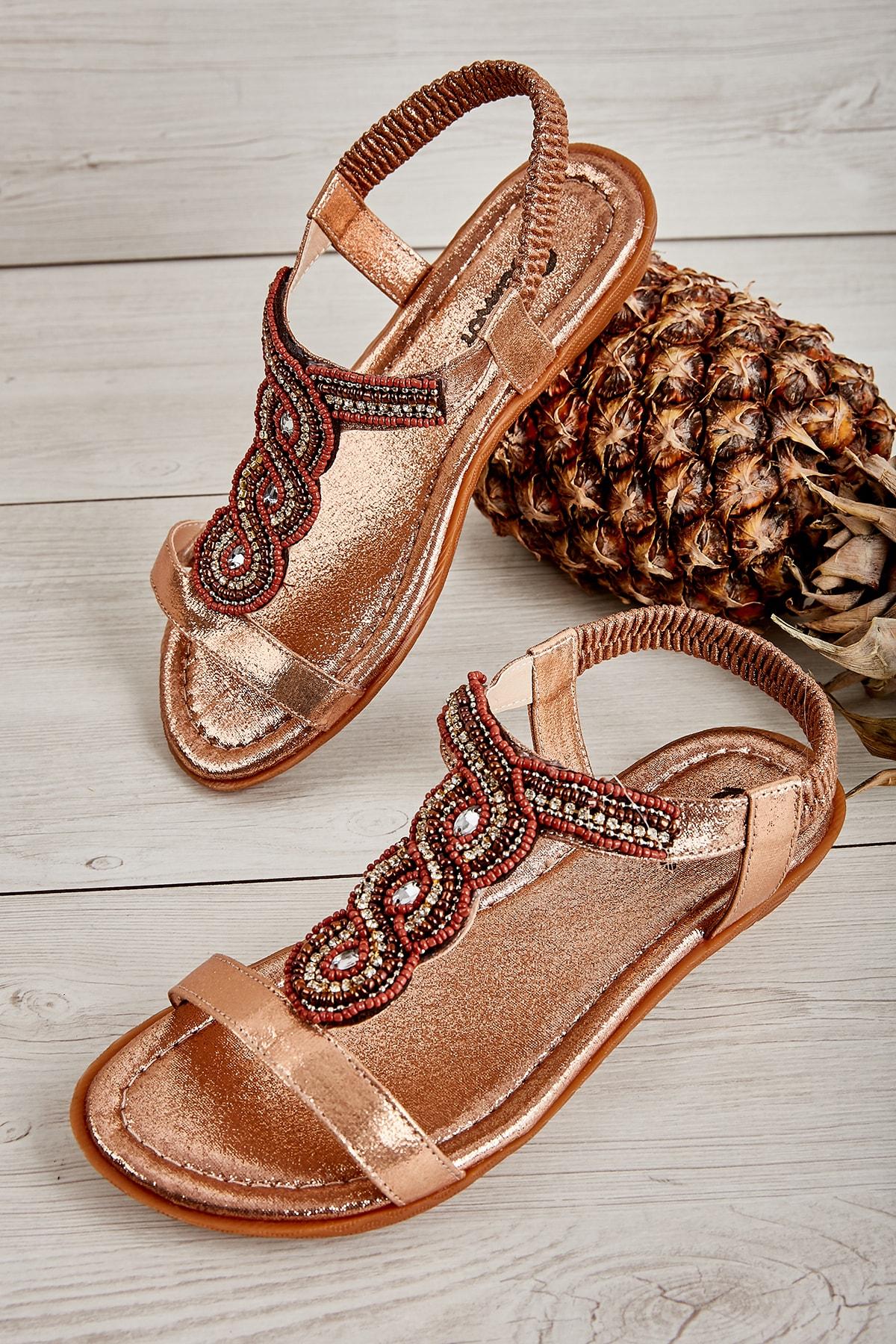 Bambi Rose Kadın Sandalet L0625014878 1