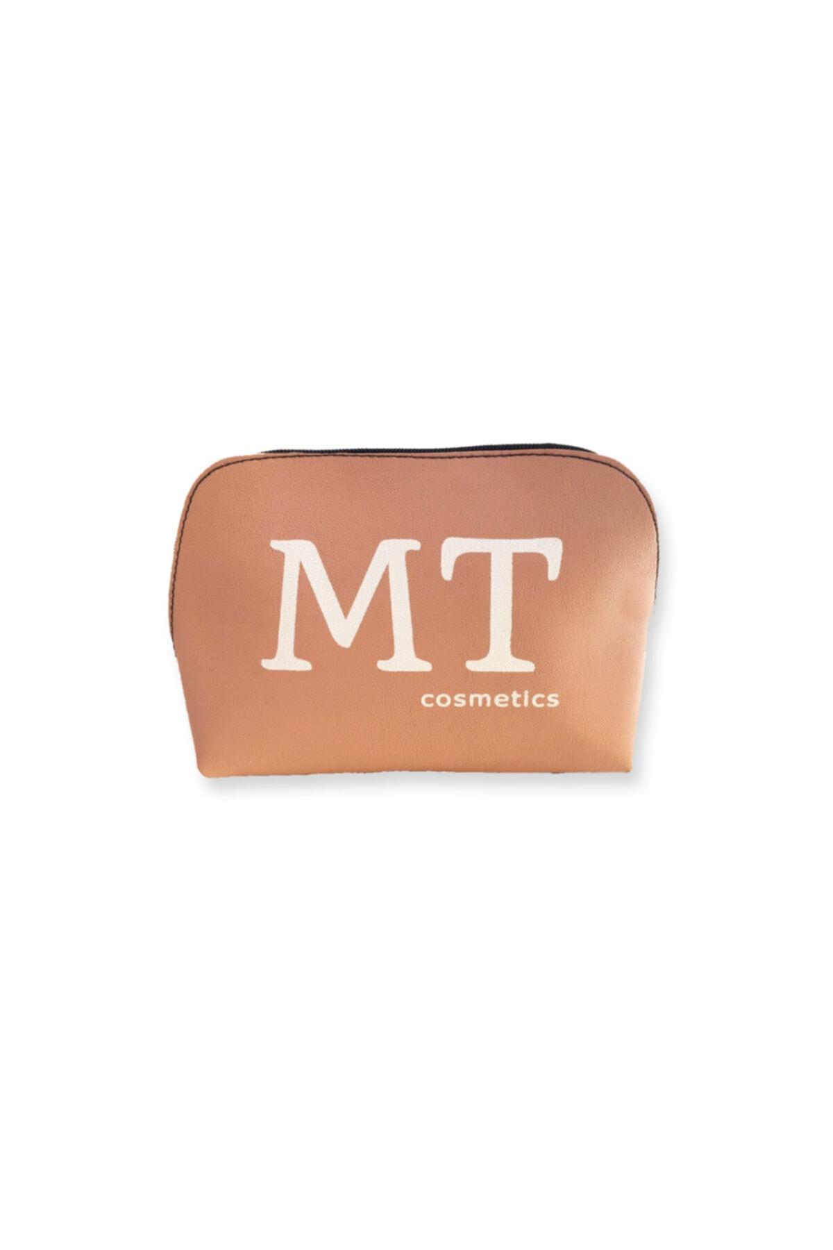 Makeuptime Mt Mat Deri Makyaj Çantası Pudra 1