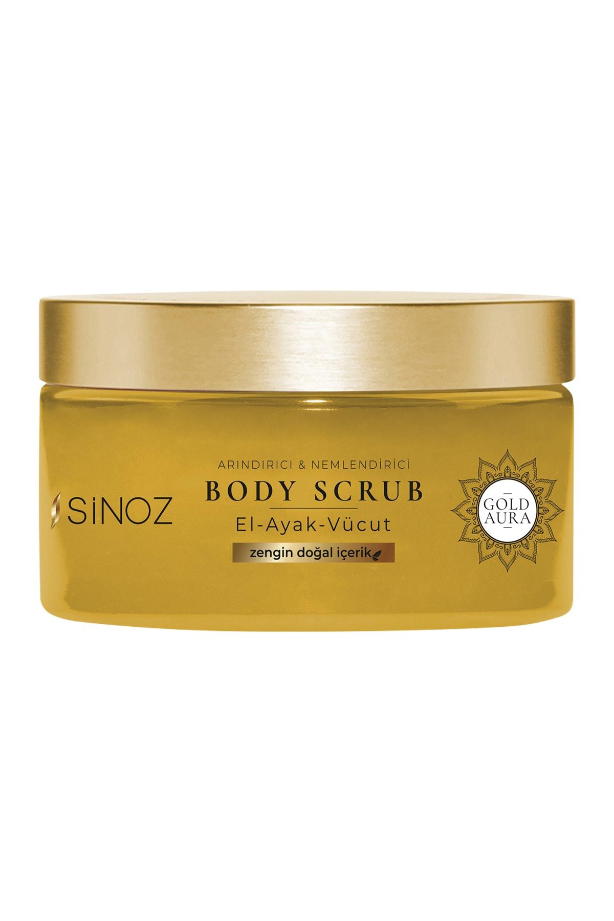 SİNOZ Gold Aura Vücut Peelingi 250 ml 1