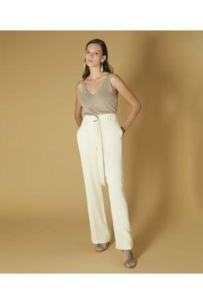 İpekyol Yüksek Bel Kuşaklı Pantolon