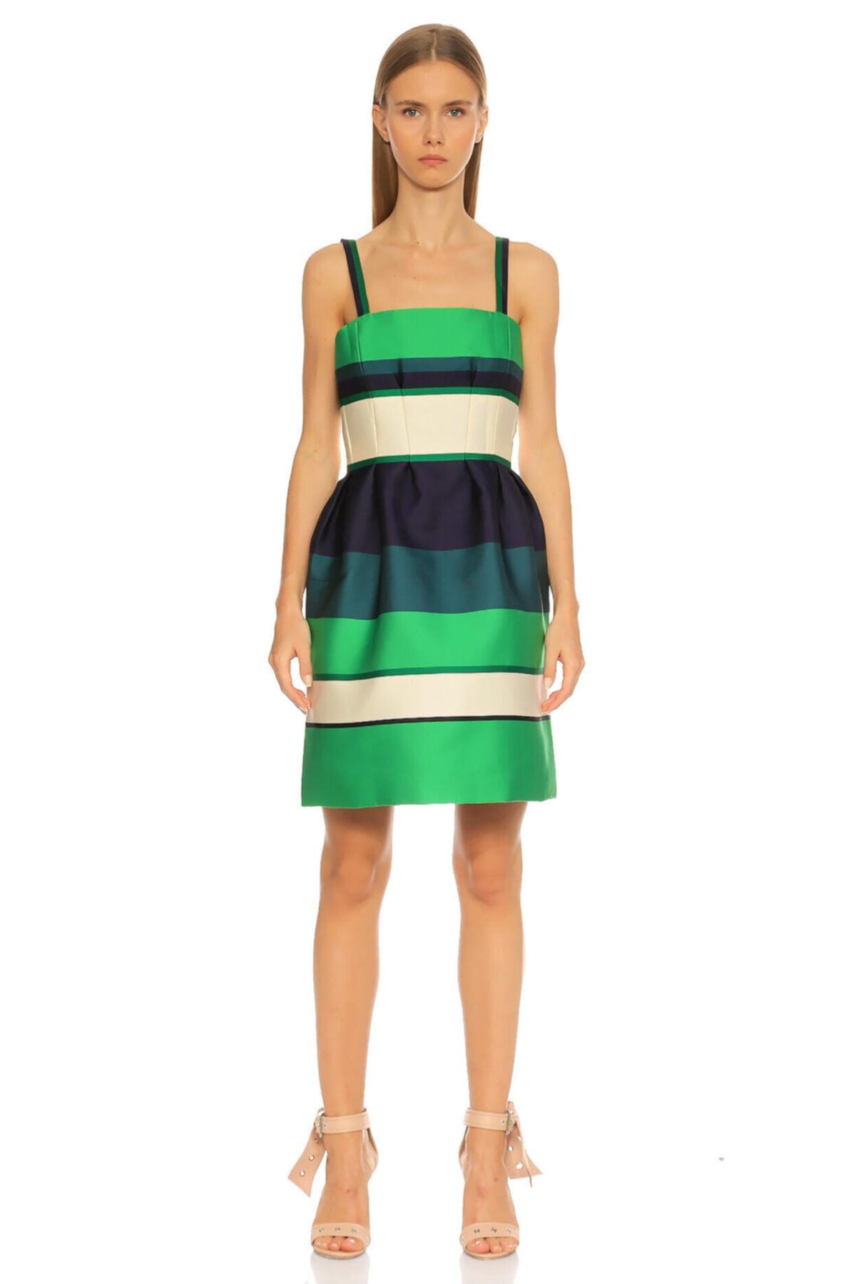 Lanvin Yeşil Elbise 1