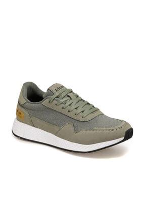 Kinetix ALBION Haki Erkek Kalın Taban Sneaker Spor Ayakkabı 100496190