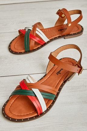 Bambi Multi/açık Taba Kadın Sandalet L0590096909
