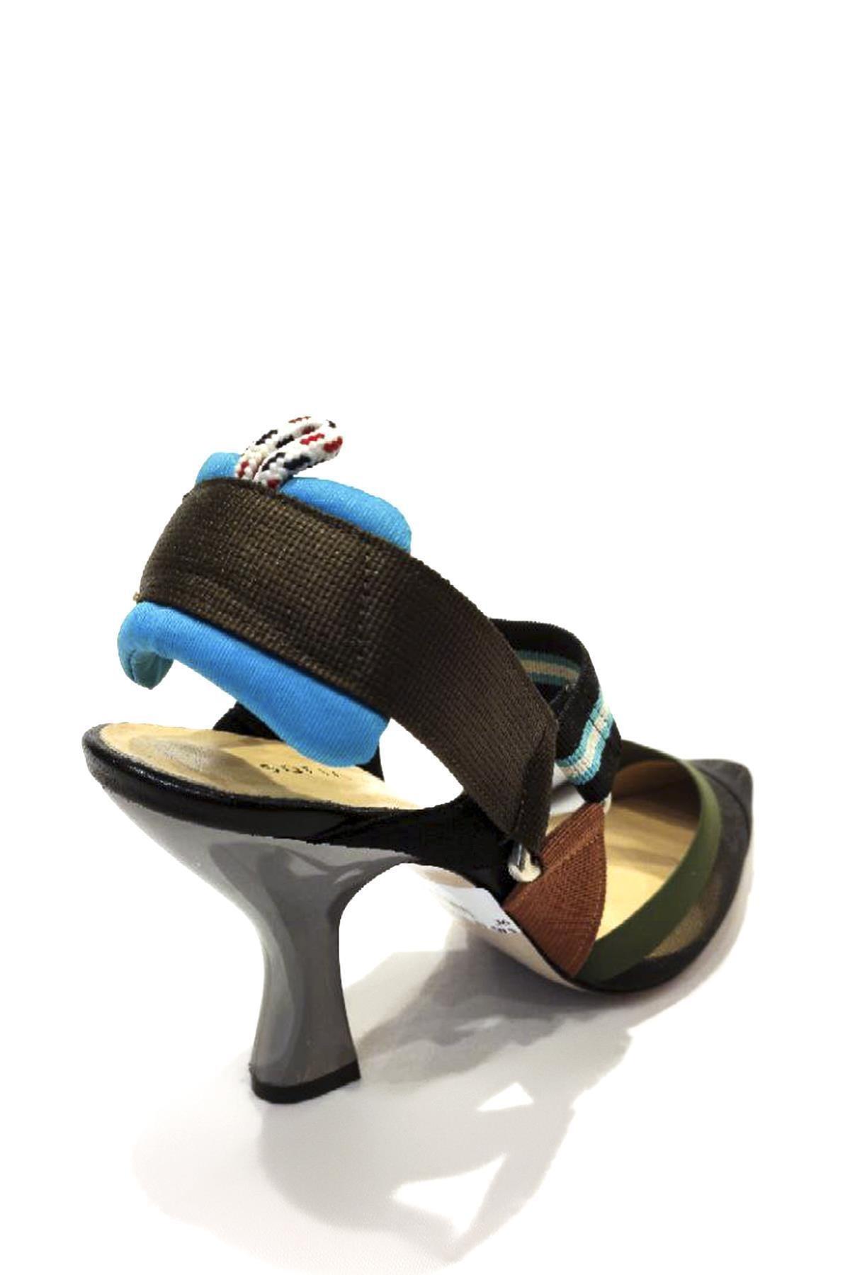 Sofia Baldi Tekstil Malzemesi Klasik Topuklu Ayakkabı Sfb19y-423 01 2