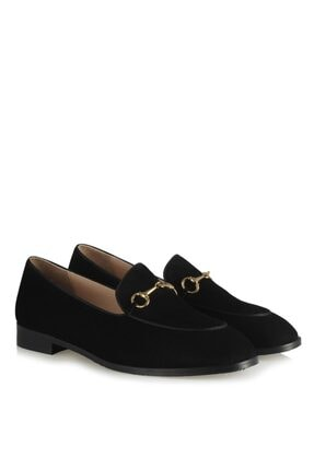 37Numara Büyük Numara Kadın Ayakkabısı Hakiki Deri Loafer
