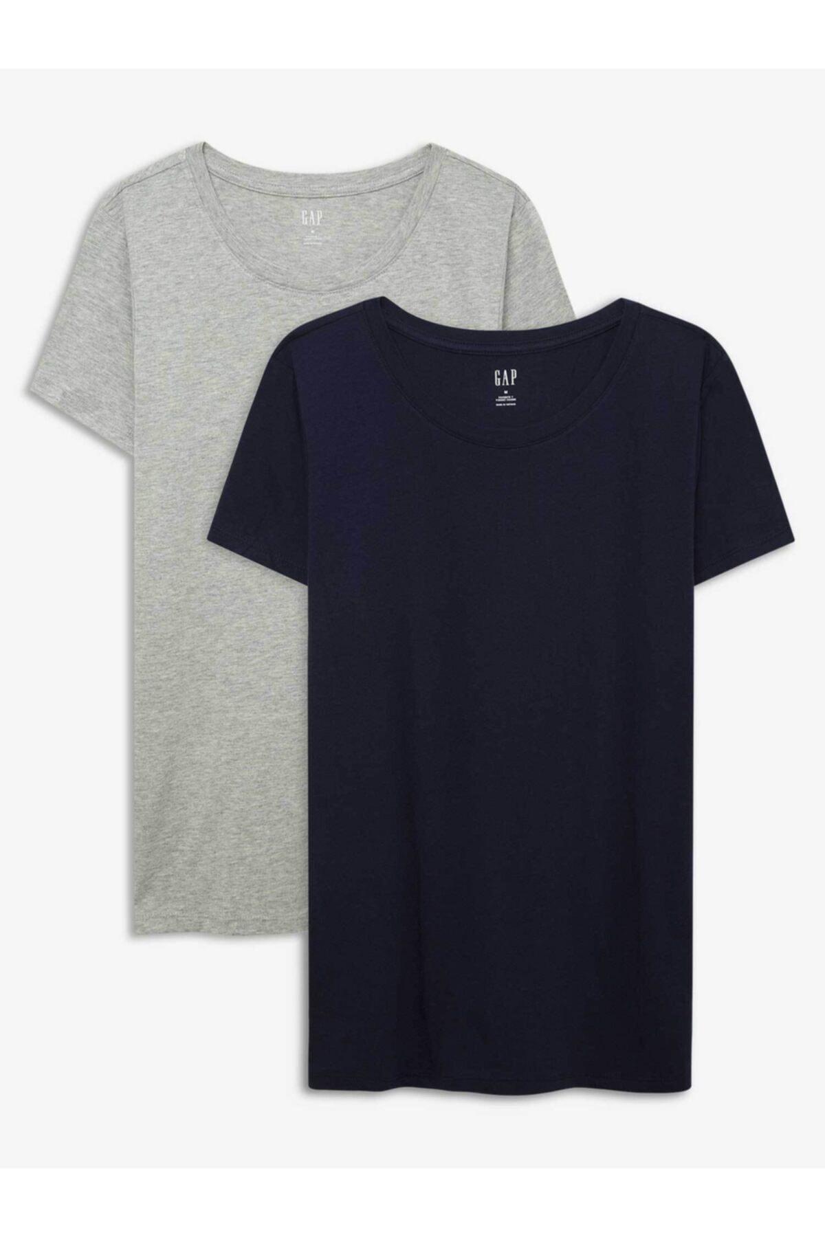 GAP 2'li Favorite Yuvarlak Yaka T-shirt Seti 1