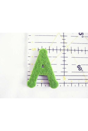 LOMİGA Keçe Harfler 1 Paket 29 Adet Harf Yeşil