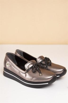 Pierre Cardin PC-50085 Platin Kadın Ayakkabı