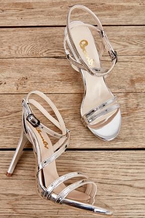 Bambi Lame Kadın Abiye Ayakkabı K05527004239