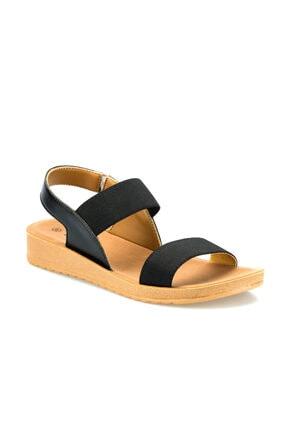 Polaris 161095.Z Siyah Kadın Sandalet 100509187