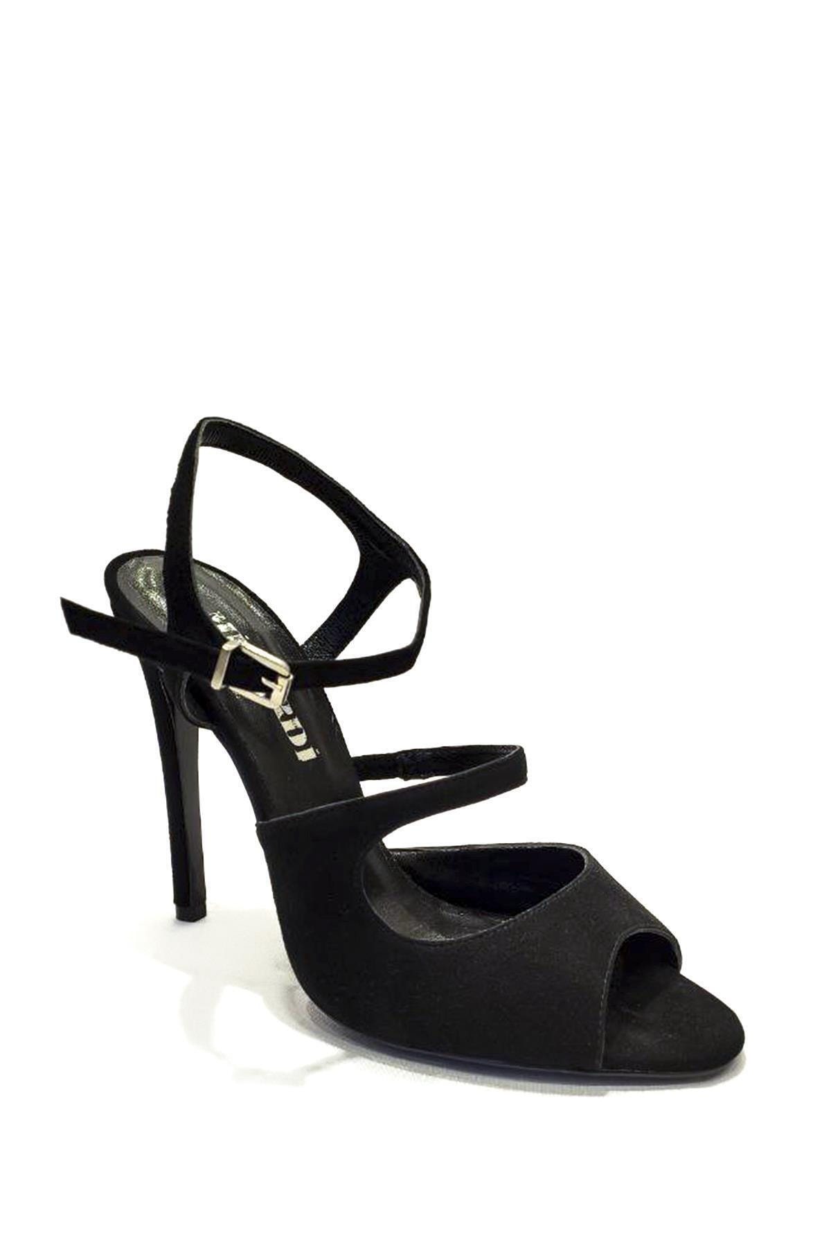 MİNARDİ Süet Klasik Topuklu Ayakkabı Mnd19y-780 1