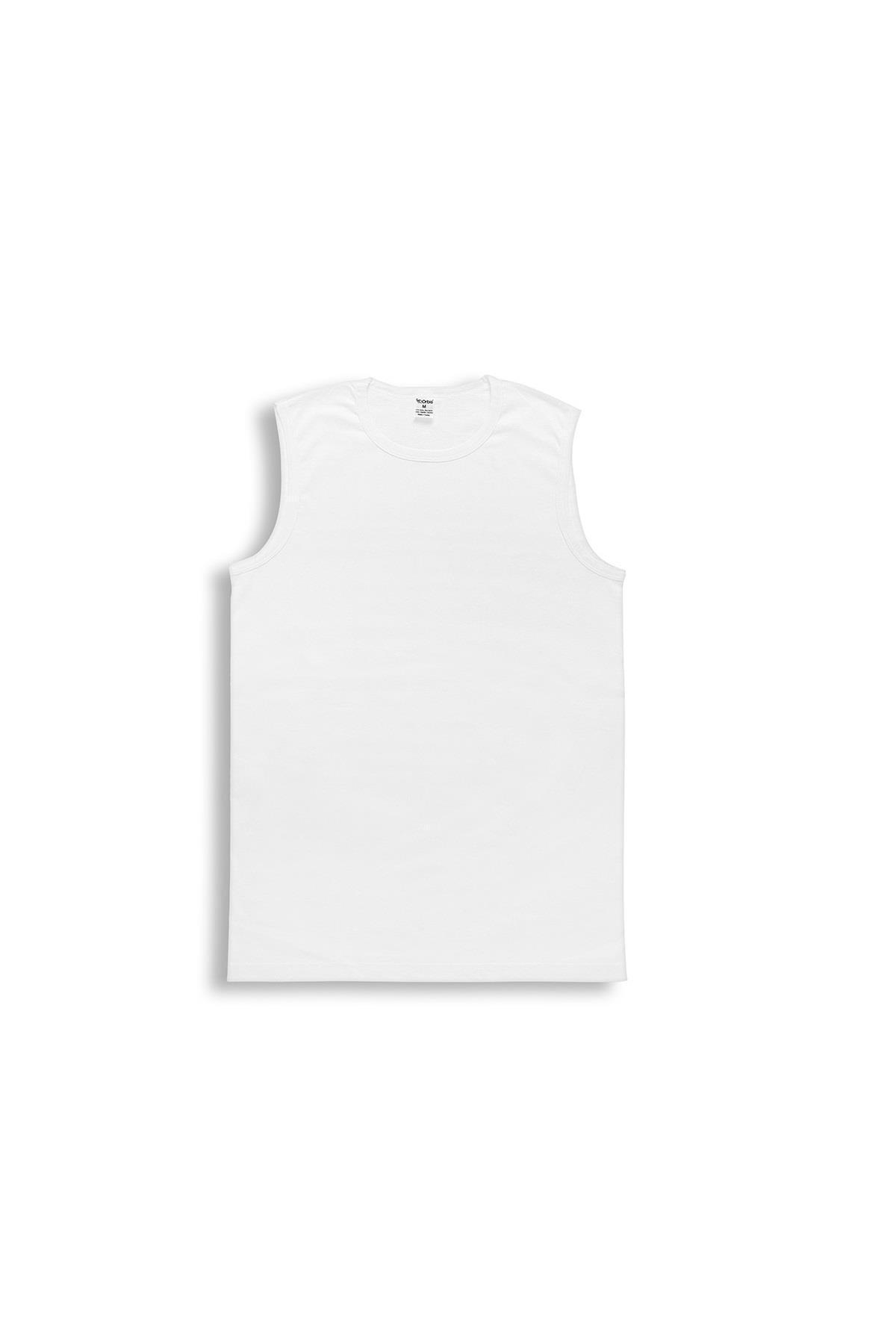 ORBİS 6'lı Erkek O Yaka Kolsuz Tişört 14003-a6 1