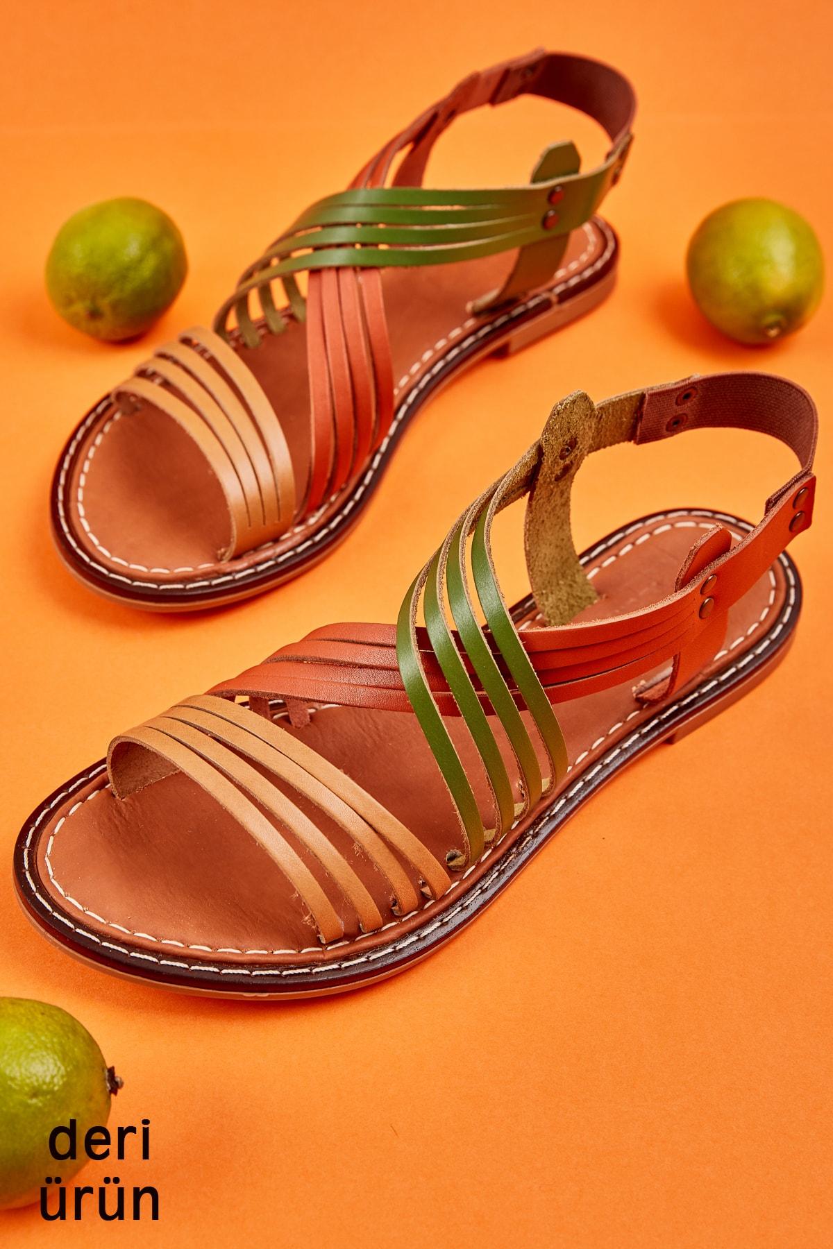 Bambi Multi Kadın Sandalet L0602808803 1
