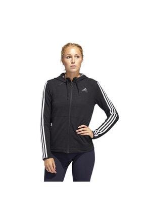 adidas 3S KNT FZ HOODY Siyah Kadın Sweatshirt 101117888