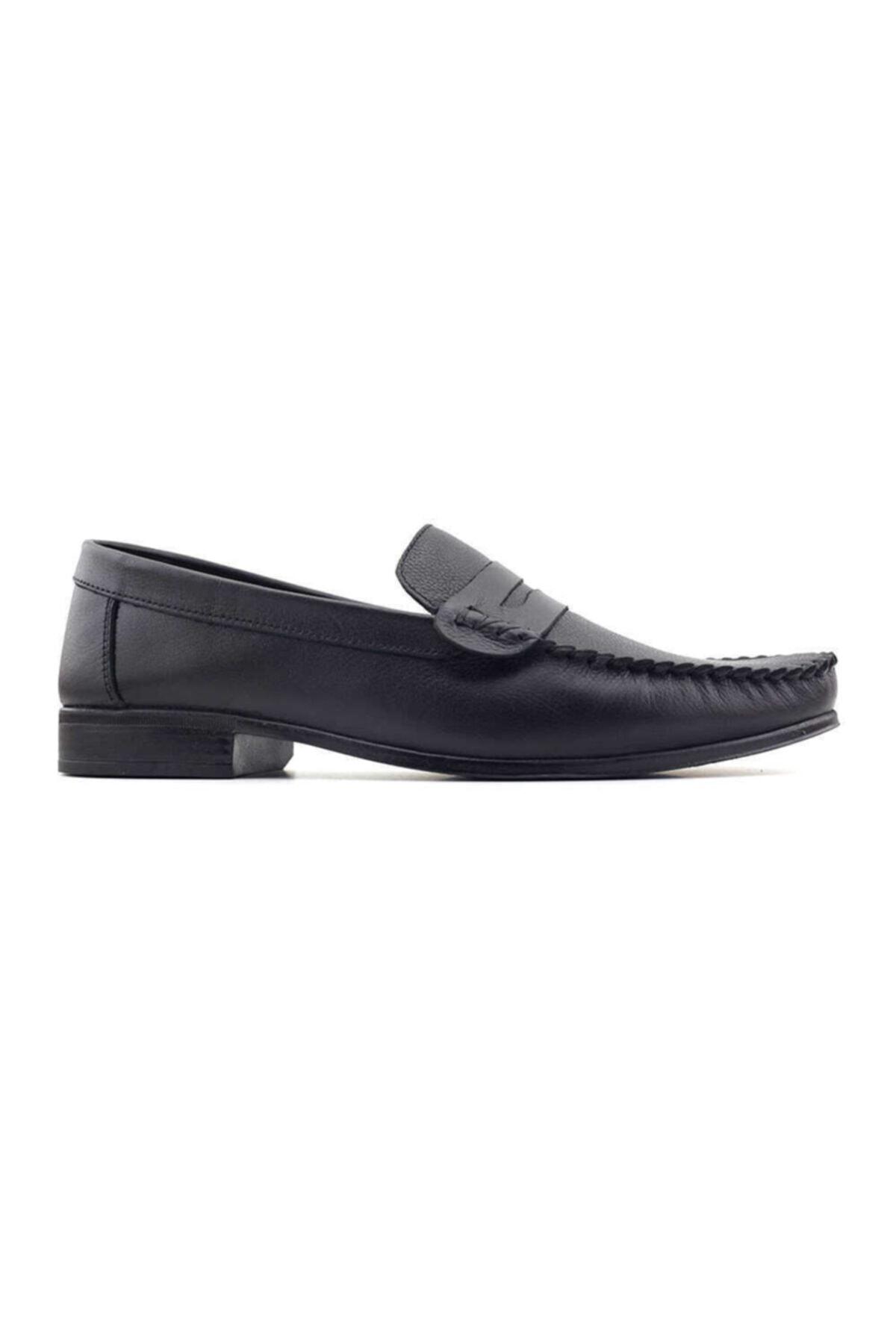 Kayra Catchers 2020 Hakiki Deri Erkek Ayakkabı-siyah 1
