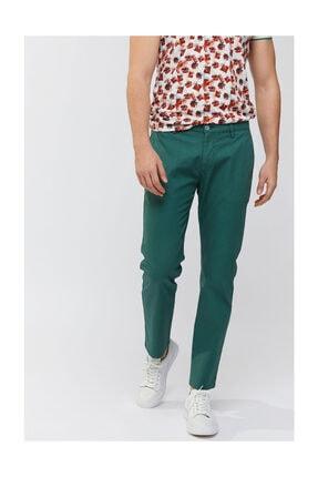 Avva Erkek Yeşil Yandan Cepli Mikro Desenli Slim Fit Pantolon A91y3018