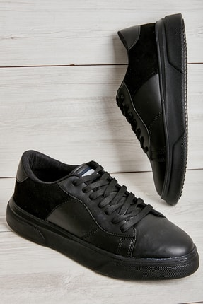 Bambi Siyah Erkek Sneaker L1806071509