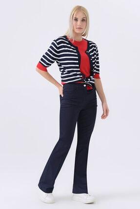 Gusto 5 Cepli Boru Paça Pantolon - Lacivert