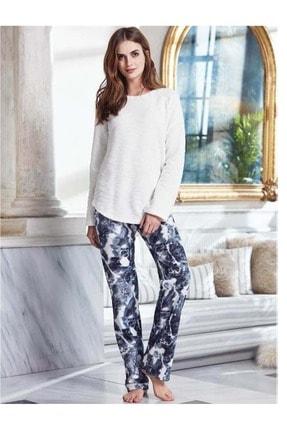 Penyemood Kadın Beyaz Pijama Takımı