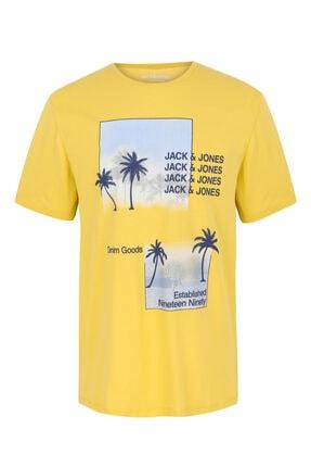 Jack & Jones Bisiklet Yaka T-shirt 12170258 Jordenız