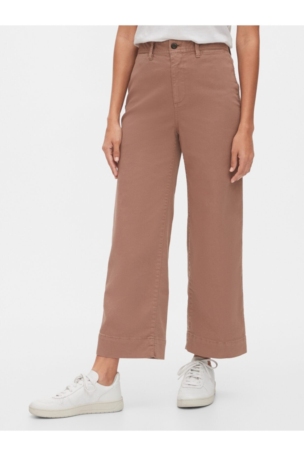 GAP Yüksek Belli Wide Leg Chino Pantolon 1